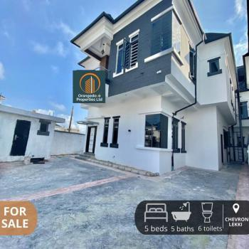 Well-built 5 Bedroom Duplex with a Bq in a Secured Estate in Chevron, Chevron, Lekki Phase 2, Lekki, Lagos, Detached Duplex for Sale