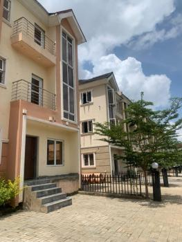 Luxury 4 Bedroom Terrace Duplex with a Bq, Lifecamp Not Far Away to Stella Maris, Jabi, Abuja, Terraced Duplex for Sale