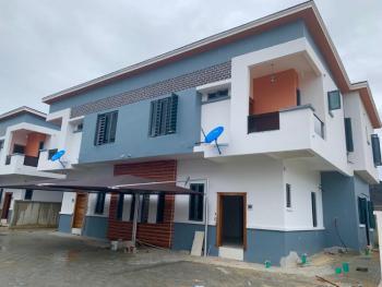 Fully Serviced 4 Bedrooms Semi Detached, Chevron, Lekki Phase 1, Lekki, Lagos, Semi-detached Duplex for Sale