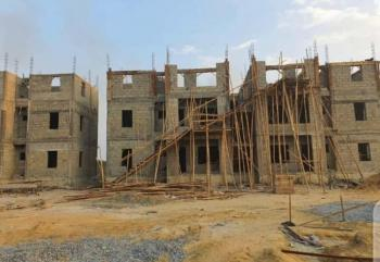 3 Bedrooms Luxury Apartment Semi-finished, Monastery Road, Shoprite, Sangotedo, Ajah, Lagos, Block of Flats for Sale