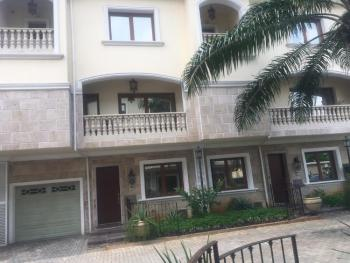 Serviced 4 Bedroom Terrace with Swimming Pool, Off Queens Drive, Old Ikoyi, Ikoyi, Lagos, Terraced Duplex for Rent