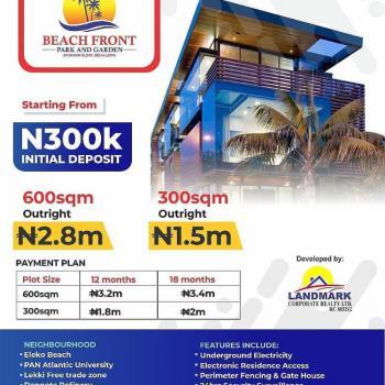 Estate Land - Beachfront Estate, Beachfront Estate, Eleko, Ibeju Lekki, Lagos, Residential Land for Sale