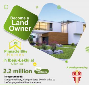 100% Dry Land with Perfect Title in The Heart of New State, Directly Opposite La Campagne Tropicana Beach Resorts, Okun Imedu, Ibeju Lekki, Lagos, Residential Land for Sale