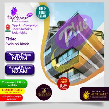 100% Dry Land in a Developed Environment, Maplewoods Plus, Directly Opposite La Campagne Tropicana Beach Resorts, Ibeju Lekki, Lagos, Mixed-use Land for Sale