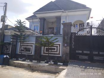 6 Bedrooms Duplex with 2 Living Rooms, Study and  a Room Self Contained Bq, Ago Palace Way, Ago Palace, Isolo, Lagos, Detached Duplex for Sale