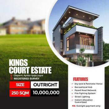 Registered Survey, Kings Court Olayemi, Egbeda, Alimosho, Lagos, Residential Land for Sale