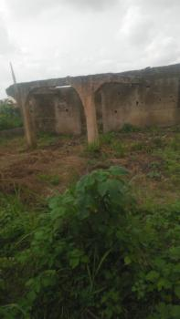 1 Plot of Land with 3 Bedrooms Uncompleted Bungalow, Akota Estate, Elebu, Ibadan South-east, Oyo, Mixed-use Land for Sale