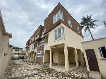 Corner Piece 4 Bedroom Terraced Duplex with a Room Bq, Opebi, Ikeja, Lagos, Terraced Duplex for Sale
