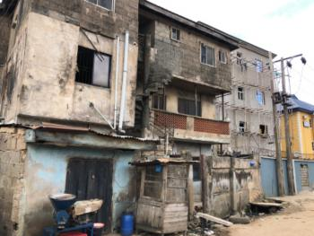 Demolishable Storey Building with Commercial Shops, By Synagogue Church, Isolo, Lagos, Block of Flats for Sale