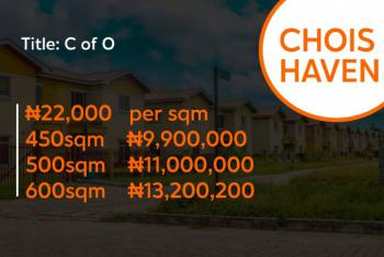 Land, Chois Haven, Abijo Gra, Lekki, Lagos, Land for Sale