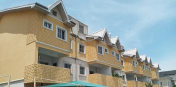 Tastefully  Furnished 4 Bedroom Terrace with Bq, Victors Court, Onikoyi Parkview Estate, Lekki, Lagos, House for Rent