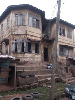 a Plot with an Ancient Storey Building, Off Awolowo, Opposite Baptist Church, Dugbe, Oke Bola, Ibadan, Oyo, Block of Flats for Sale