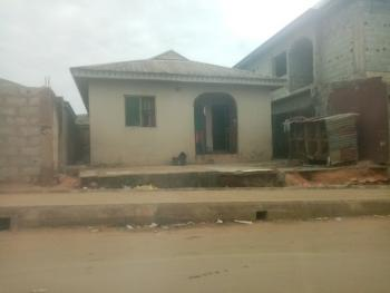 Two Bedrooms and Room Self Contained, Igando, Akesan, Alimosho, Lagos, Detached Bungalow for Sale
