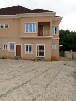 5 Bedroom Semidetached Duplex with 2 Room Bq, Asamankese, Zone 2, Wuse, Abuja, Semi-detached Duplex for Rent