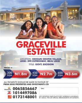 Estate in Dry Land, Okegun Odofin Village,lekki/epe Express Way, Ikegun, Ibeju Lekki, Lagos, Mixed-use Land for Sale