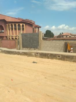 Full Plot with Pilling on It, Shosanya Street, Soluyi, Gbagada, Lagos, Mixed-use Land for Sale