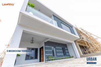 Luxury 3 Bedrooms Terraced Duplex + Bedroom Bq with C of O, Behind Abraham Adesanya, Before Lagos Business School, Lekki Phase 2, Lekki, Lagos, Terraced Duplex for Sale