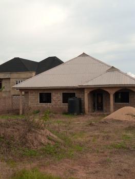 4 Bedroom Bungalow, Opposite Immigration Office Oke-mosan, Abeokuta South, Ogun, Flat for Sale