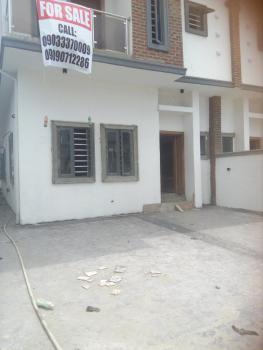 Luxury and Spacious 4 Bedroom Semi Detached Duplex with a Room Bq., Estate, Chevron Drive., Idado, Lekki, Lagos, Semi-detached Duplex for Sale