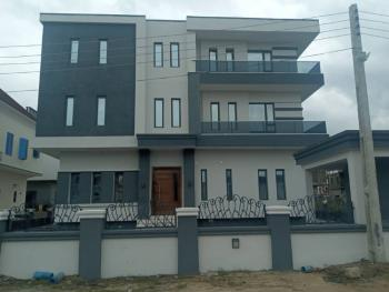 Magnificent 6 Bedroom Fully Detached Duplex with Bq, Victory Park Estate Shoprite Road, Osapa, Lekki, Lagos, Detached Duplex for Rent