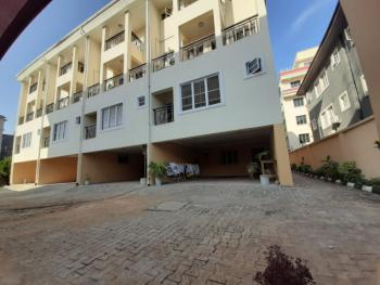Serviced 4 Bedrooms Terrace with  Air Conditioners & 2 Rooms Bq, Oniru, Victoria Island (vi), Lagos, Terraced Duplex for Rent