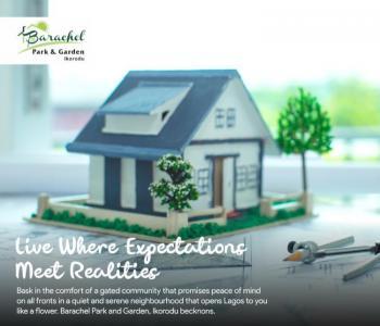 Barachel Parks and Gardens home Sweet Home, Gberigbe, Ikorodu, Lagos, Residential Land for Sale