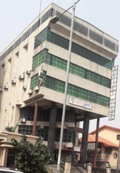 7 Floor Serviced Office Complex with Elevator, 4 Toilets on Each Floor, Link Road, Opebi, Ikeja, Lagos, Office Space for Rent