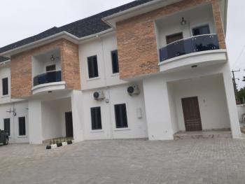 Newly Built Luxury 4 Bedroom Terrace with a Bq, Lekki Conservation Center By Chevron, Lekki Phase 1, Lekki, Lagos, Terraced Duplex for Sale