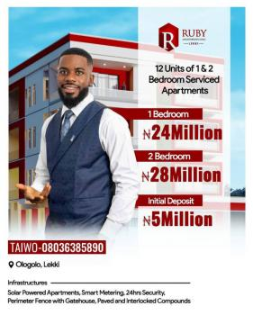 6 Units of 1 Bedroom of Serviced Apartment., Chief Kola, Ologolo, Lekki, Lagos, Block of Flats for Sale