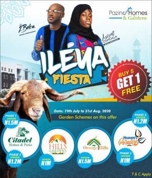 Land, Pizano Homes & Gardens, Ibeju Lekki, Lagos, Land for Sale