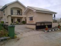 4 Bedroom House With Bq At Pearls Garden, Ajah, Lagos, 4 Bedroom House For Sale