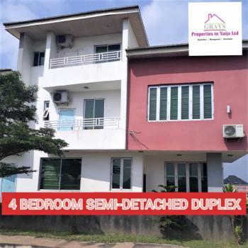 Elegant 4 Bedroom Semi-detached Duplex, City View Estate, Berger, Arepo, Ogun, Semi-detached Duplex for Sale