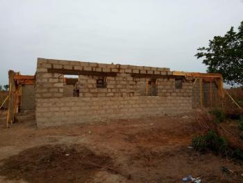 Uncompleted 3 Bedroom Flat with Visitor Awaiting Room, Virgin Land, Otokiti New Layout, Lokoja, Kogi, Flat for Sale