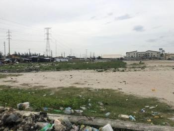 Land Property with Scope of 77,000sqm., Lekki / Epe Expressway Before Chevron Beside World Oil Filling Station., Ilasan, Lekki, Lagos, Mixed-use Land for Sale