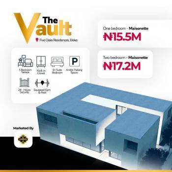 One Bedroom Apartment, The Vault, Eleko Beach Road, Eleko, Ibeju Lekki, Lagos, Flat for Sale