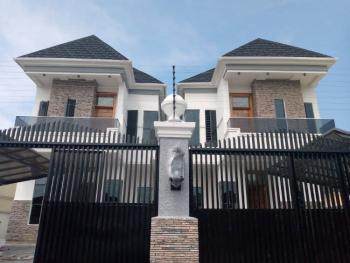 5 Bedroom Fully Detached House with 1room Bq, Chevy View Off Chevron, Igbo Efon, Lekki, Lagos, Detached Duplex for Sale