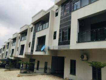 4 Bedroom Terrace Duplex with a Room Bq, Guzape District, Abuja, Terraced Duplex for Sale