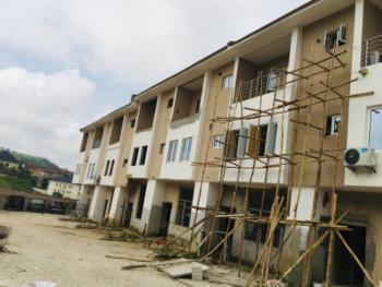 4 Bedroom Terrace Duplex with a Room Bq, Guzape District, Abuja, Terraced Bungalow for Sale