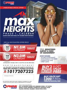 Land, Max Heights Estate, Calabar, Cross River, Residential Land for Sale