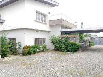 5 Bedroom Detached House with 2 Rooms Bq & Swimming Pool, Off Awolowo Road, South West, Falomo, Ikoyi, Lagos, Detached Duplex for Rent