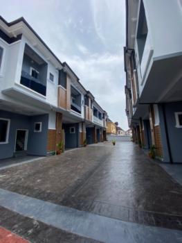 Serviced Luxury 4 Bedroom Terrace House in a Mini Estate, Good Water., Chevron Alternative,chevron, Lekki Expressway, Lekki, Lagos, Terraced Duplex for Rent