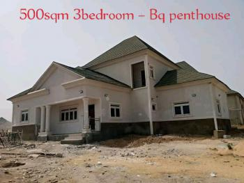 Fully Detached 3 Bedroom Pent House with Attached Bq, Leisure Court, Behind Aco Estate, Airport Road, Sabon Lugbe, Lugbe District, Abuja, Residential Land for Sale