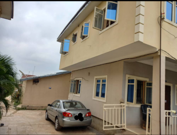 Upstairs 1 Bedroom Flat with P O P, Opposite Abacha Road, Nyanya, Abuja, Mini Flat for Rent