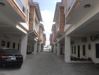 Brandnew 4 Bedrooms Terraced Duplex with 24 Hours Power, Orchid Road, Lafiaji, Lekki, Lagos, Terraced Duplex for Rent