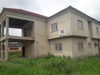 4 Bedroom Fully Detached Duplex(uncompleted), Megabond Villa Estate After Works and Housing Estate, Gwarinpa, Abuja, Detached Duplex for Sale