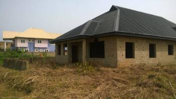 Uncompleted Fully Roofed  4 Bedroom Bungalow, Golden Heritage Estate, Mowe, Mowe Town, Ogun, Detached Bungalow for Sale