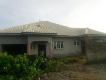 Partly Completed 4 Bedrooms Bungalow with 2 Sitting Rooms, Ajumose Estate, Alafara, After Nihort, Ibadan, Oyo, Detached Bungalow for Sale