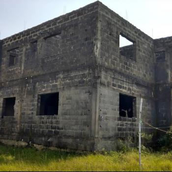 Uncompleted 4 Bedrooms Duplex with 2 Units of Attached 3 Bedrooms Flat, Ogombo, Ajah, Lagos, Detached Duplex for Sale