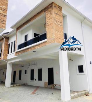 Spacious 4 Bedroom Terrace Duplex with a Fitted Kitchen, Orchid Road Chevron, Ikota, Lekki, Lagos, Semi-detached Duplex for Rent