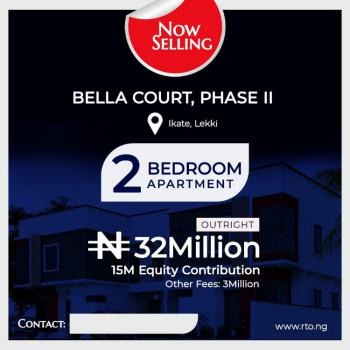 Fully Finished 2 Bedroom Apartment, Bella Court, Ikate, Lekki, Lagos, Block of Flats for Sale